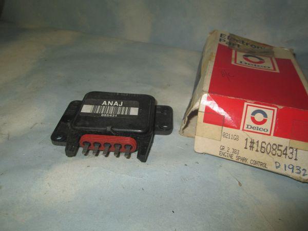 16085431 AC DELCO GM CAMARO PONTIAC ELECTRONIC SPARK CONTROL MODULE NEW