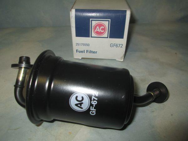 GF672 AC DELCO MAZDA PROTEGE FUEL FILTER NEW