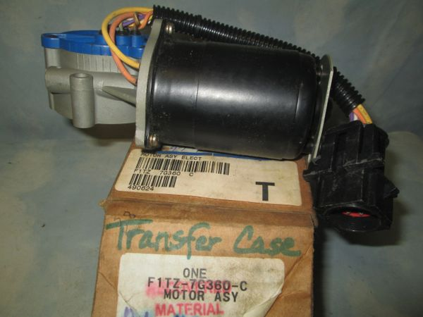 F1TZ-7G360-C FORD F-150 BRONCO EXPLORER RANGER TRANSFER CASE SHIFT MOTOR 91-97 OEM NEW