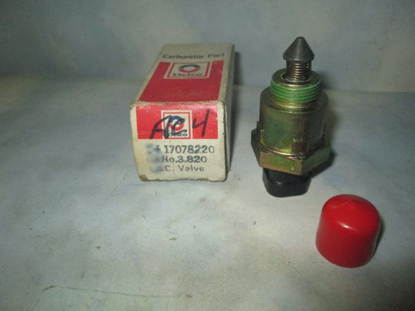 17078220 AC DELCO IDLE AIR CONTROL CHEVY CITATION BUICK PONTIAC FUEL INJECTION NOS