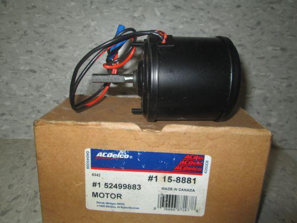 15-8881 AC DELCO FORD AEROSTAR HVAC NEW BLOWER OEM REAR MOTOR