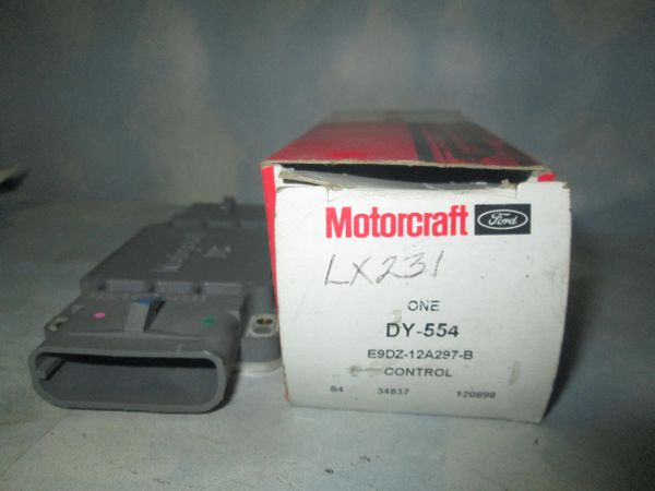 DY-554 MOTORCRAFT FORD 89-90 V-3.0 V-3.8 THUNDERBIRD SUPER CHARGE NEW OEM IGNITION CONTROL MODULE E9DZ-12A297-B