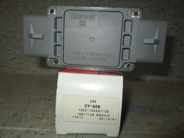 DY-958 MOTORCRAFT 90-95 IGNITION CONTROL MODULE FORD TAURUS NEW OEM 1U2Z-12A297-CB