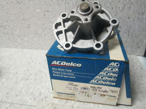 252-156 AC DELCO 1981-1993 SAAB WATER PUMP