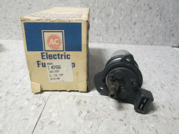 EP266 AC DELCO ELECTRIC FUEL PUMP 1990-1992 CHEVY LUMINA 2.5L NOS