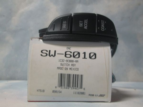 SW-6010 MOTORCRAFT OEM 04-13 FORD TRUCK F-150 E-250-E450 CRUISE CONTROL SWITCH NEW