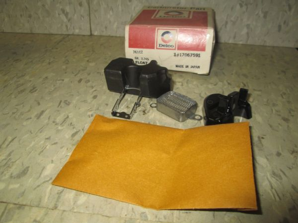 17067591 DELCO 79-82 GM GENUINE PONTIAC AMC OLDS CHEVY NOS ROCHESTER CARBURETOR FLOAT