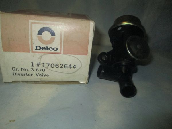 17062644 AC DELCO AIR PUMP DIVERTER VALVE NEW