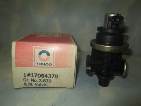 17064379 AC DELCO AIR INJECTION SYSTEM CONTROL VALVE NEW