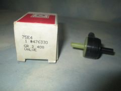 476330 AC DELCO GM SPARK DELAY VALVE NOS
