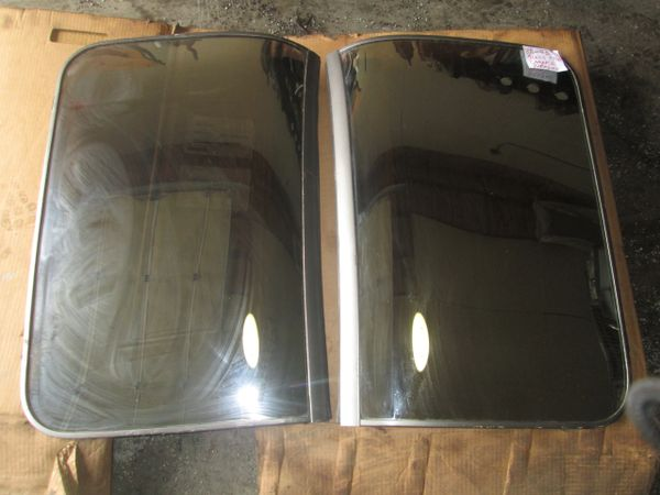 54321 T-TOPS FOR 82-92 GM GLASS TINTED FIREBIRD CAMARO USED SET OEM