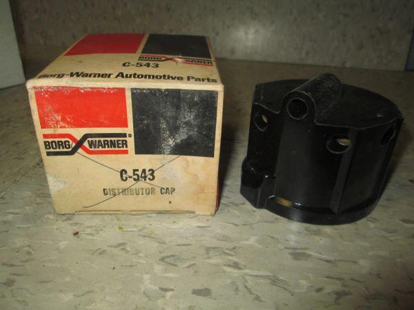 C-543 BORG WARNER DISTRIBUTOR CAP 63-69 DATSUN PICKUP 1.2L 1.3L 1.6L NOS