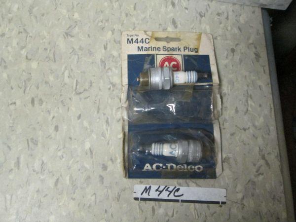 M44C AC MARINE SPARK PLUG NOS SET OF 2