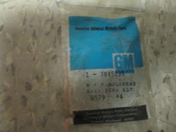 7845235 GM CHEVETTE OEM BULKHEAD SEAL SERVO KIT NOS