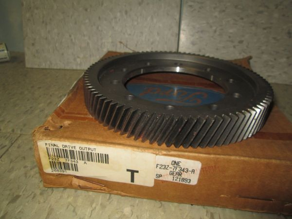 F23Z-7F343-A FORD FINAL DRIVE OUTPUT GEAR OEM NEW