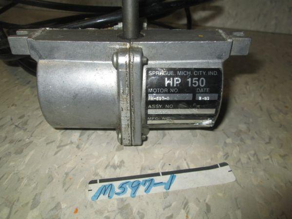 M597-1 SPRAUGE HP 150 REMAN AIR MOTOR
