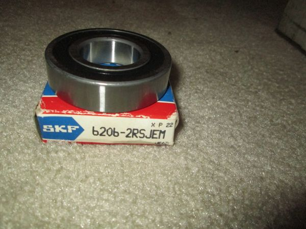 6206-2RSJEM SKF BEARING RADIAL DEEP NOS BALL BEARING