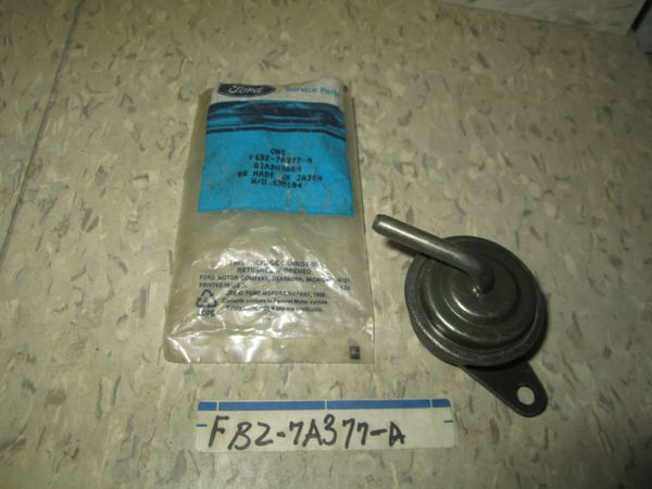 FBZ-7A377-A FORD DIAPHRAM NEW