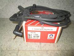 614F DELCO GM 4-CYLINDER SPARK PLUG WIRE SET OPEL FIRENZA SKYHAWK 2000 1983-86 NEW