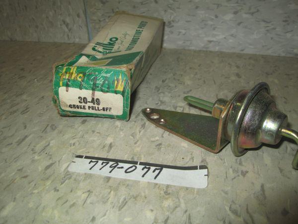 779-077 STANDARD CHOKE PULL OFF NOS FILKO 30-49 71-72 OLDSMOBILE 2BBL ROCHESTER