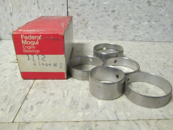 1112 FEDERAL MOGAL ENGINE BEARINGS 49-56 GMC OLDSMOBILE CAM BEARINGS SET OF 5 NOS