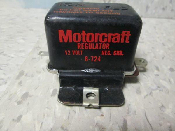 8-724 MOTORCRAFT REGULATOR 12 VOLT NEW
