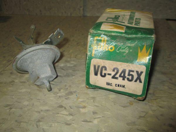 VC-245X FILKO CHRYSLER 72-79 DISTRIBUTOR VACUUM ADVANCE NOS