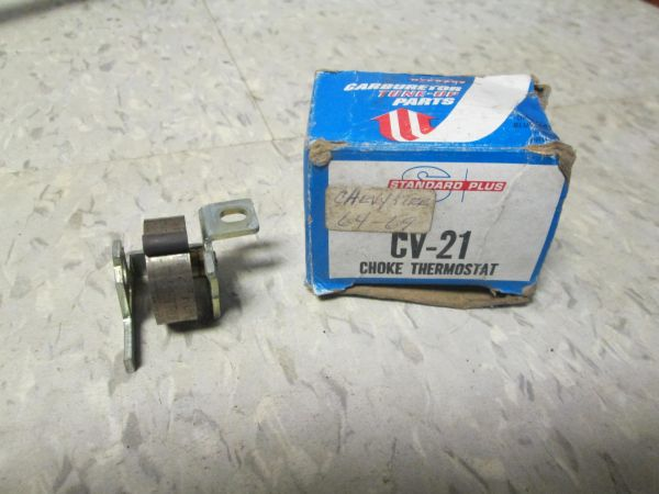 CV-21 CHOKE THERMOSTATE STANDARD PLUS CHEVY TRUCK 64-69 NEW