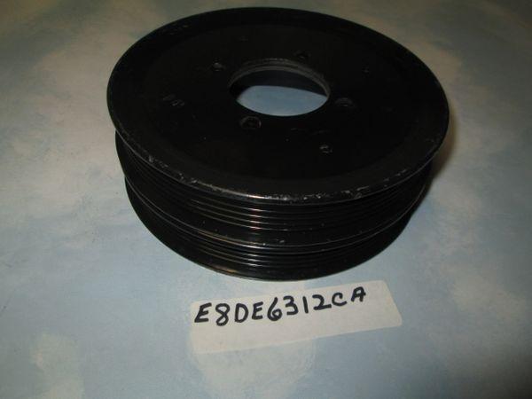 E8DE6312CA FORD MERCURY TAURUS HAMONIC BALANCER PULLEY NEW