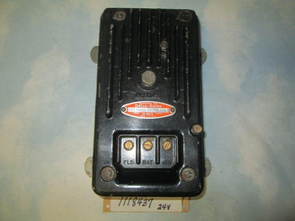 1118437 DELCO REMY 24V VOLTAGE REGULATOR NEW