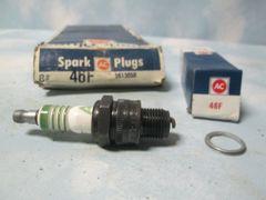46F AC DELCO SPARK PLUGS FIAT LAND ROVER JAGUAR CITRON SET OF 8