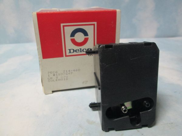 214-460 AC DELCO BUICK LESABRA 3.8L EGR REGULATOR & EFE SOLENOID NOS