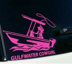 GWC Cowgirl Window Decal