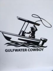 GWC Cowboy Window Decal