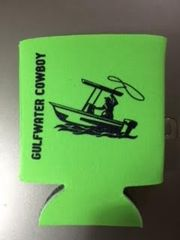 GWC Nation Lime Green Cowboy Collapsible Koozie