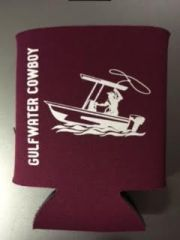 GWC Nation Maroon Cowboy Collapsible Koozie