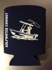 GWC Nation Navy Cowboy Collapsible Koozie