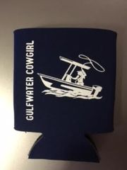 GWC Nation Navy Cowgirl Collapsible Koozie