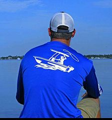 GWC Royal Blue Classic Logo Dry Fit Long Sleeve