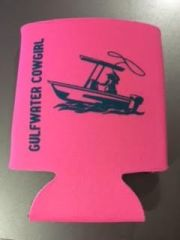 GWC Nation Hot Pink Cowgirl Collapsible Koozie
