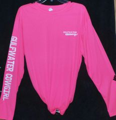 GWC Ladies Neon Pink Classic Logo Dry Fit