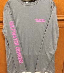 GWC Cowgirl Soft Grey Long Sleeve Dri Fit