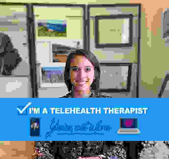 Online counseling for anxiety with Sarah Burns from Charlotte. Tele therapy for anxious thoughts.