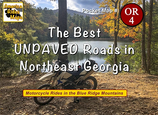 The Best UNPAVED Roads in Northeast Georgia