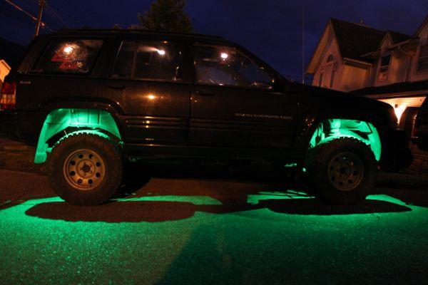 Speed Demon Rock Lights Color Changing. 4 Lights.