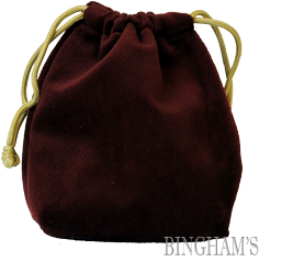 Velveteen Jewelry/Keepsake Bags