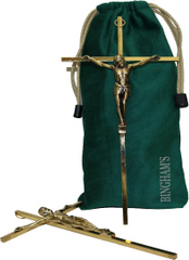 Velveteen Crucifix Bag