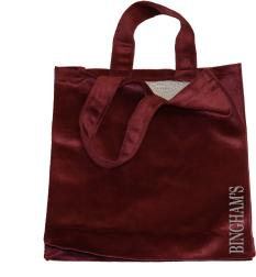Velveteen Tote Bags