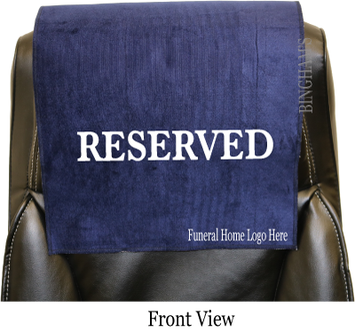 Large Reserved Seat Signs