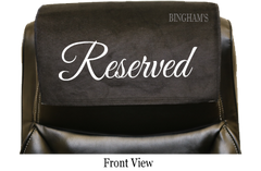 Small Reserved Seat Signs